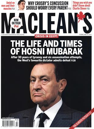 Cover for the February 14 2011 issue