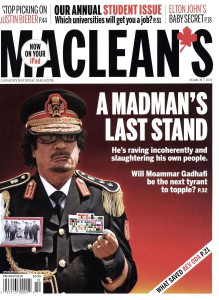Issue: - MARCH 7th 2011 | Maclean's