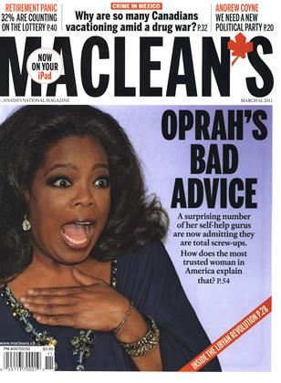Cover for the March 14 2011 issue