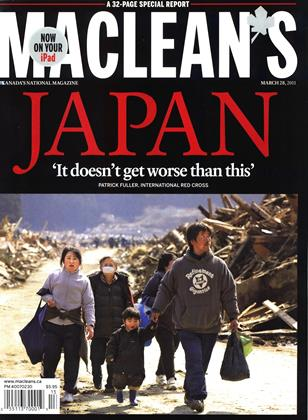 Cover for the March 28 2011 issue