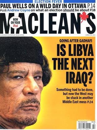 Cover for the April 4 2011 issue
