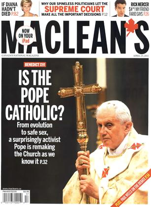 Cover for the April 25 2011 issue
