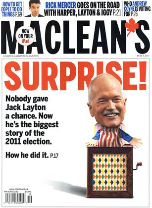 Cover for the May 9 2011 issue