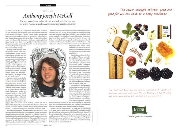 Anthony Joseph McColl, Page: 74 - MAY 9, 2011 | Maclean's