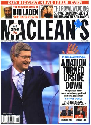 Cover for the May 16 2011 issue