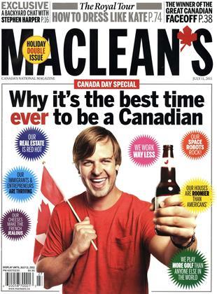 MACLEAN'S, Page: 1 - JULY 11, 2011 | Maclean's