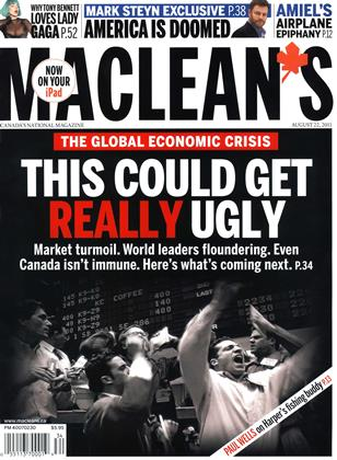 Cover for the August 22 2011 issue