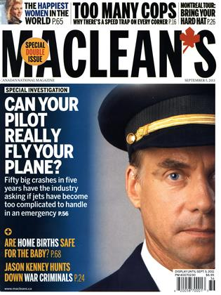 Cover for the August 29 2011 issue