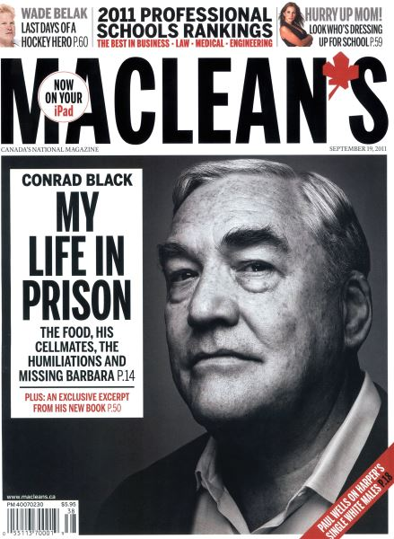 Issue: - September 19th 2011 | Maclean's