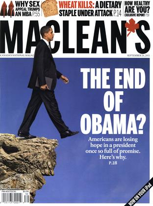 Cover for the September 26 2011 issue