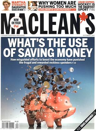 Cover for the October 3 2011 issue