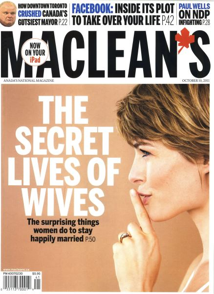 Issue: - October 10th 2011 | Maclean's