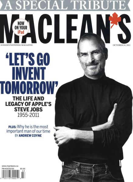 Issue: - October 24th 2011 | Maclean's