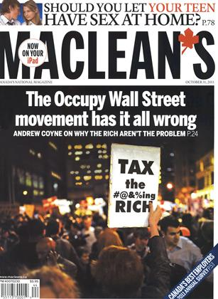 Cover for the October 31 2011 issue