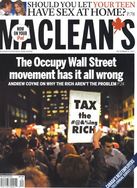 Issue: - October 31st 2011 | Maclean's