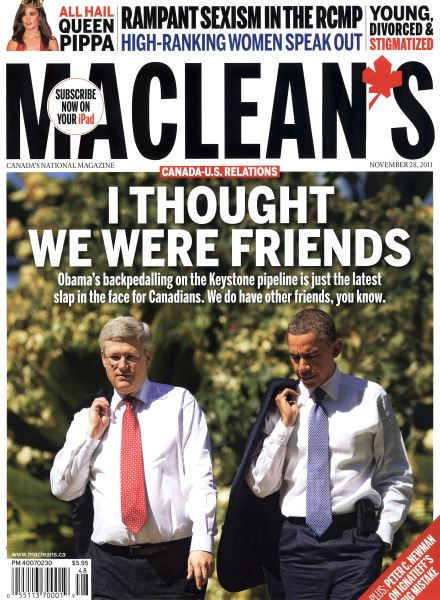 Issue: - November 28th 2011 | Maclean's
