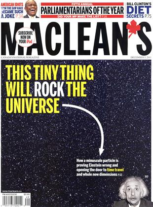 Cover for the December 5 2011 issue