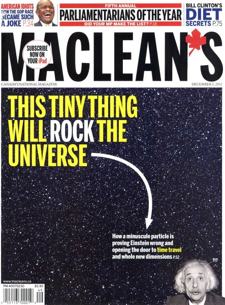 Issue: - December 5th 2011 | Maclean's