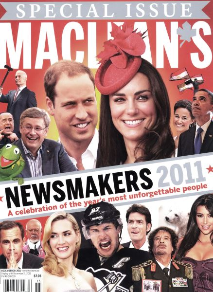Issue: - December 12th 2011 | Maclean's