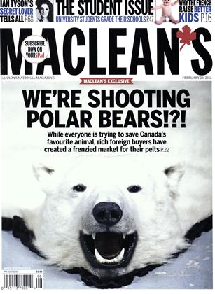 Cover for the February 20 2012 issue