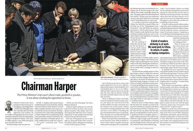 Chairman Harper