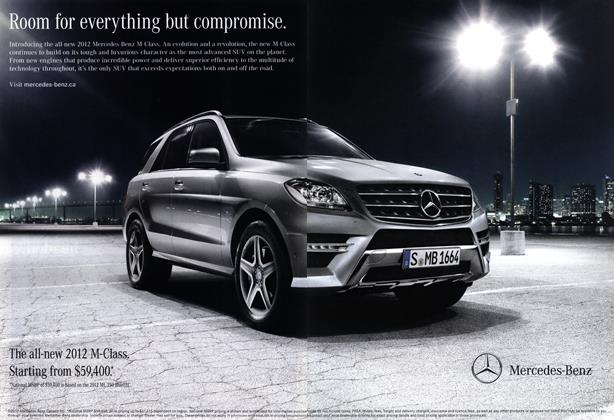 Advertisement: Mercedes-Benz
