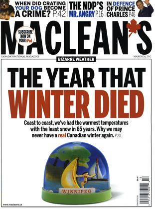 Cover for the March 26 2012 issue
