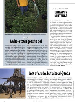 Lots of crude, but also al-Qaeda, Page: 34 - MARCH 26, 2012 | Maclean's