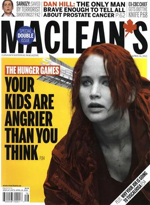 Cover for the April 9 2012 issue