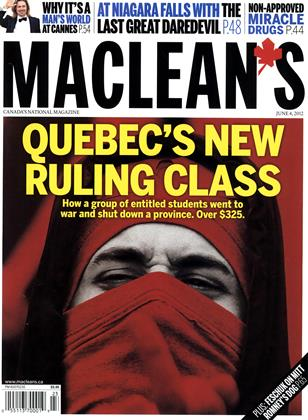 Cover for the June 4 2012 issue