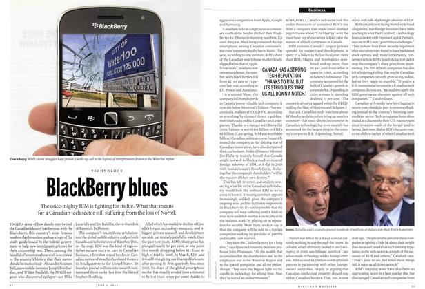 BlackBerry blues