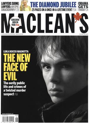Cover for the June 18 2012 issue