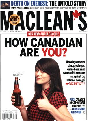 Cover for the July 9 2012 issue