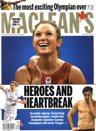 Cover for the August 20 2012 issue