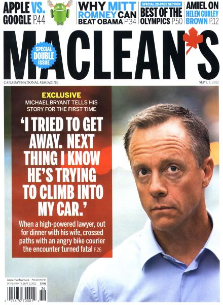 Issue: - SEPT. 3, 2012 | Maclean's