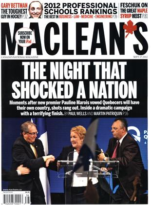 Cover for the September 17 2012 issue