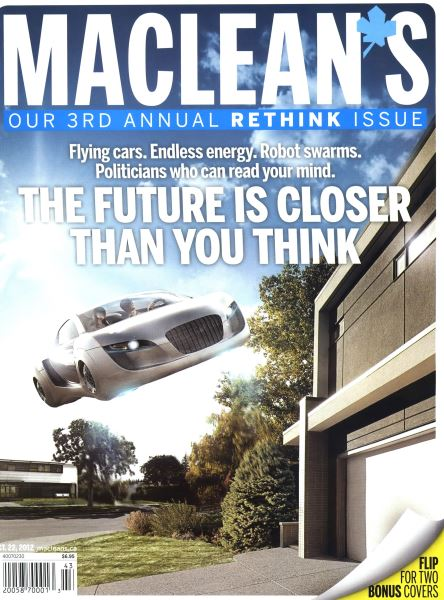 Issue: - October 2012   Maclean's