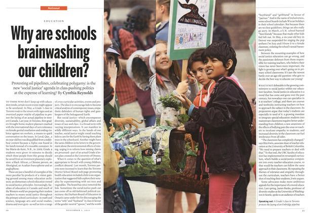 Why are schools brainwashing our children?