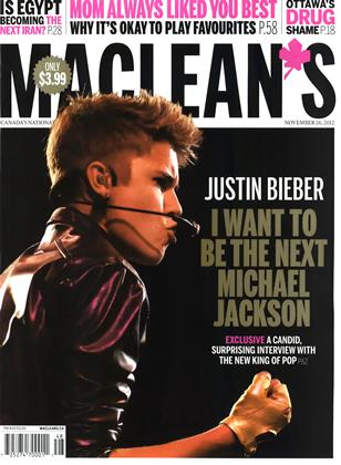 Cover for the November 26 2012 issue