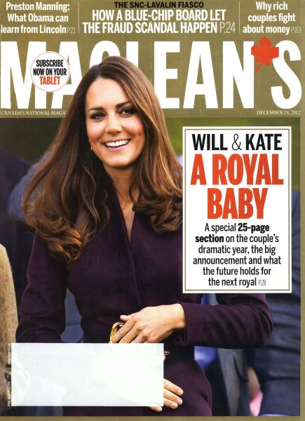Issue: - December 2012 | Maclean's
