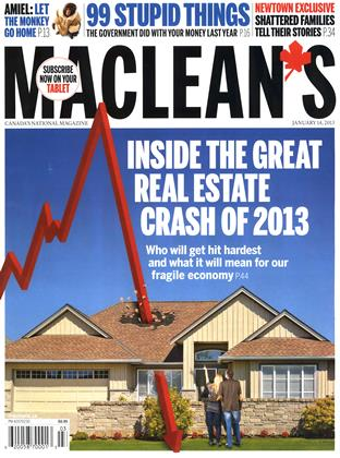 Cover for the January 14 2013 issue