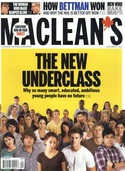 Issue: - JANUARY 21,2013 | Maclean's