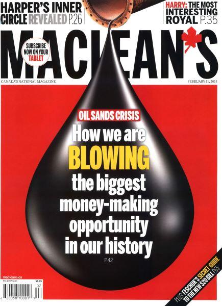 Issue: - February 2013   Maclean's