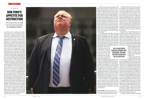 ROB FORD'S APPETITE FOR DESTRUCTION