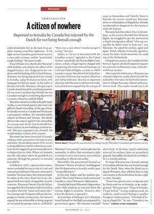 A citizen of nowhere, Page: 22 - DECEMBER 23, 2013   Maclean's