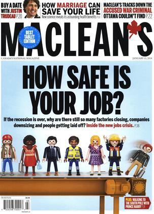 JANUARY 13, 2014 | Maclean's
