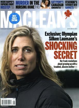 JANUARY 27, 2014 | Maclean's