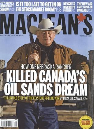 FEBRUARY 3, 2014 | Maclean's