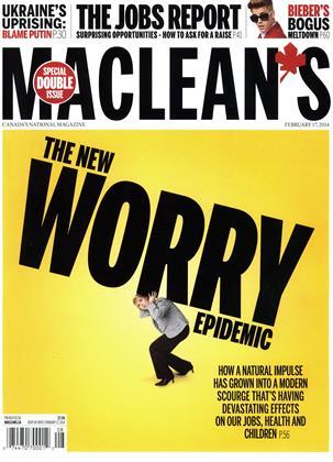 FEBRUARY 17, 2014 | Maclean's