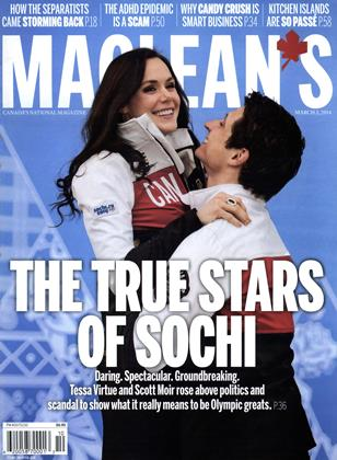 Cover for the March 3 2014 issue